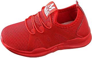 Kinder Sportschuhe Atmungsaktiv Mesh Laufschuhe Straßenlaufschuhe Johiberty Running Schuhe Mädchen Jungen Tennisschuhe Low-Top Sneakers Ultraleicht Outdoor Strand Running Baby Schuhe