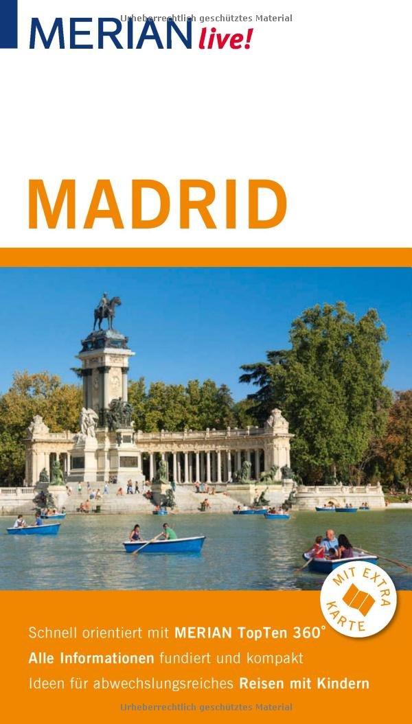 Merian Live Reisefuhrer Madrid Mit Extra Karte Zum Herausnehmen