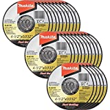 Makita B-46159-25 4-1/2'' x .032'' x 7/8'' Ultra Thin Cut-Off Wheel (25 Pack), Stainless