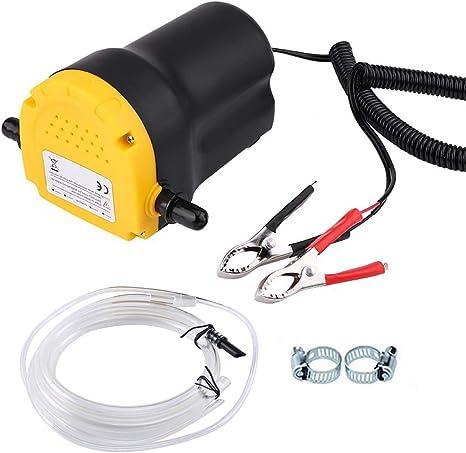 YaeTek 12v Motor Oil Diesel Extractor Scavenge Suction Transfer Change Pump
