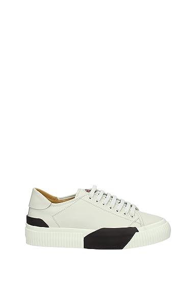 e723845900bc MONCLER Sneakers Homme - Cuir (1021700019A8) EU  Amazon.fr  Chaussures et  Sacs