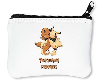 Pokemon Pikachu Friends Billetera con Cremallera Monedero ...