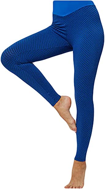 Luiyy® Leggings Mujer Deporte Cintura Alta Transpirables Mallas ...