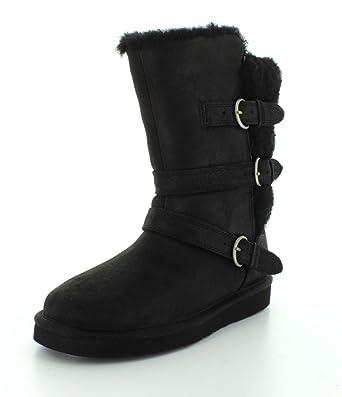d7469636800 Ugg Australia W Becket Black Womens Boots Size 40 EU: Amazon.co.uk ...