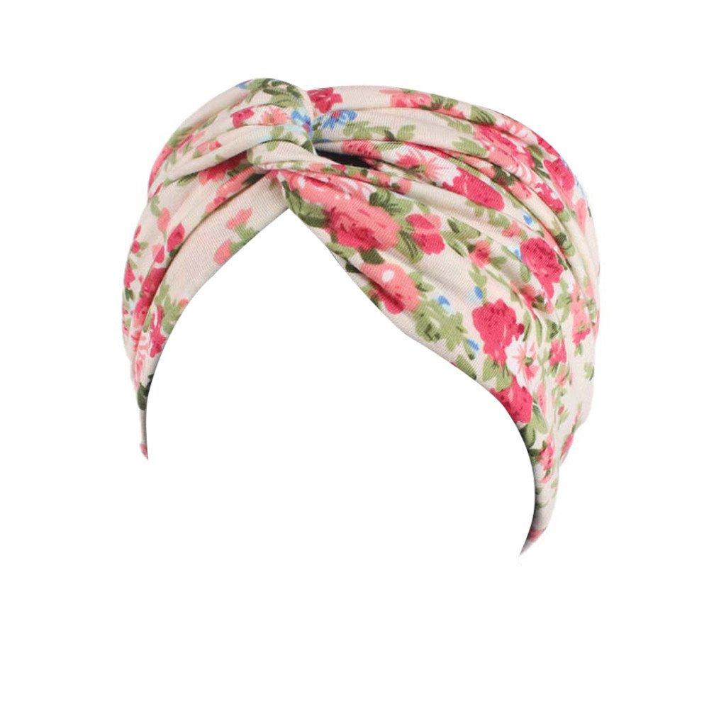 conqueror Femmes Dames Jardin Sportif Floral Head Warp Bandeau élastique bande de cheveux