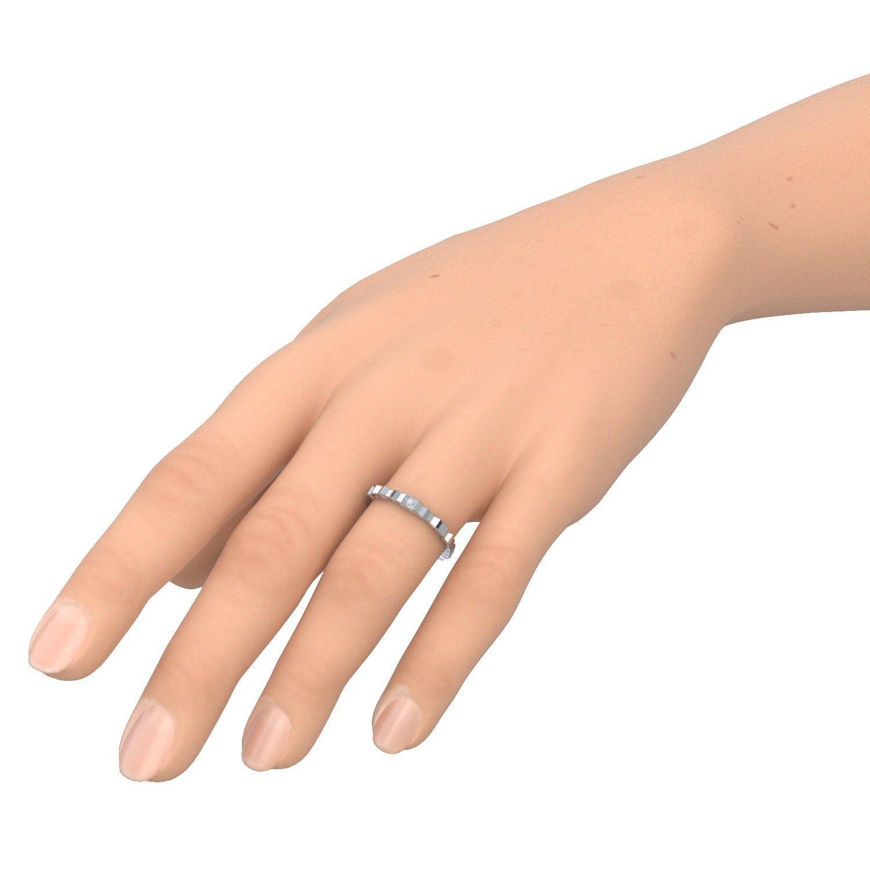 Ausgefallene diamantringe  Ausgefallene Ringe Weißgold Ring Diamant 750 + inkl. Luxusetui + ...