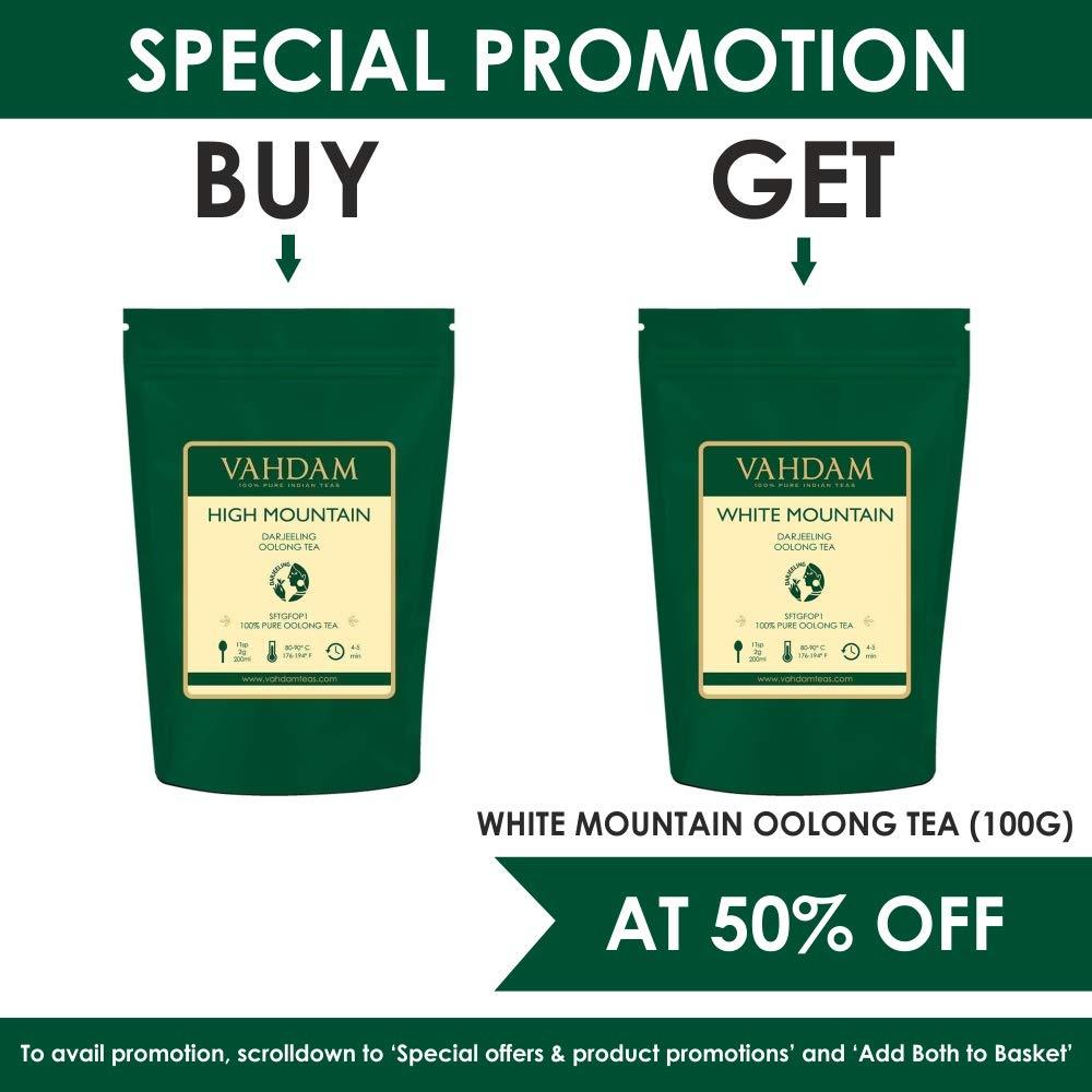 50 tasses Assam Tea Cardamome Cannelle Poivre Noir Th/é Masala Chai /épic/é /à lAssam VAHDAM 100gr Feuilles de th/é au th/é Chai /épic/ées | 100/% EPICES NATURELLES Clou de Girofle
