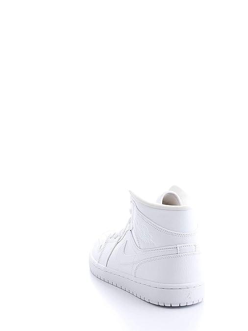new arrival abb63 c2079 Nike Air Jordan 1 Mid, Chaussures de Basketball Homme  Amazon.fr  Chaussures  et Sacs