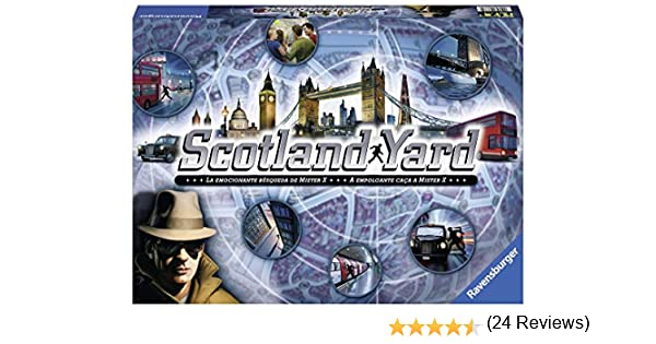Ravensburger - Scotland Yard, Juego de Mesa (26673 9): Amazon.es ...