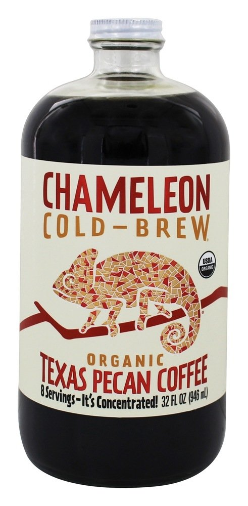 Chameleon Cold Brew Organic Cold Brew Coffee Concentrate Texas Pecan - 32 fl. oz.