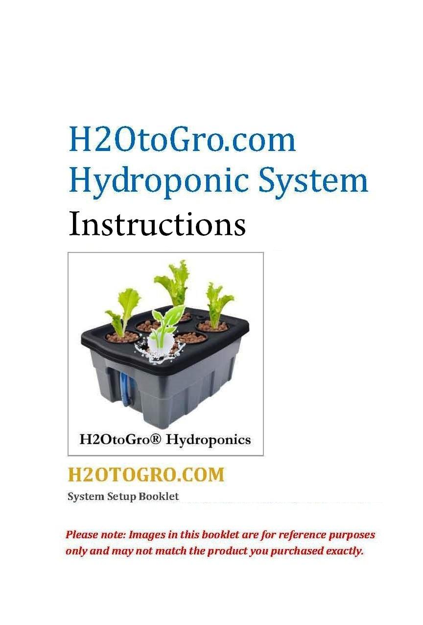 DWC 4-site Hydroponic Bucket BUBBLER Grow kit by H2OToGro (Image #6)