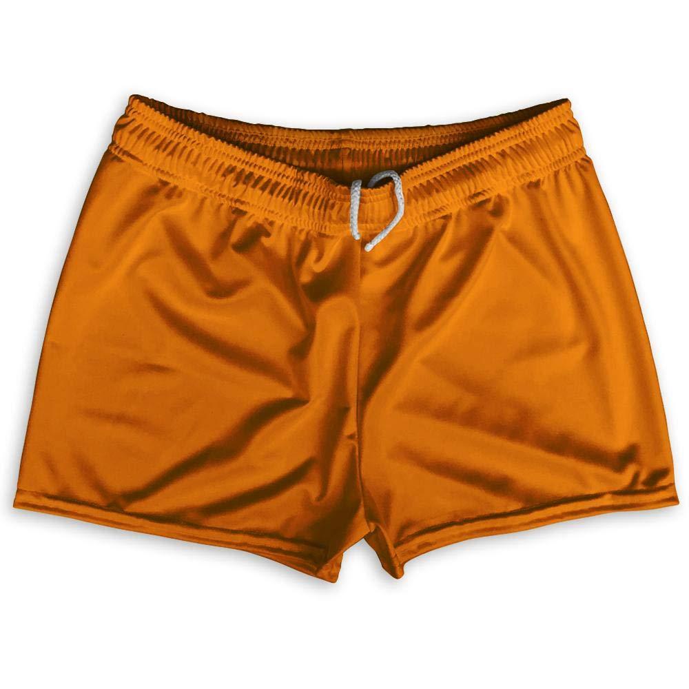 Ultras Orange Tennessee Shorty Short Gym Shorts 2.5 Inseam