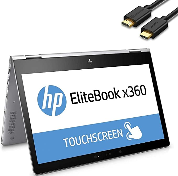 Broonel Grey Rechargeable Fine Point Digital Stylus Compatible with The HP EliteBook x360 1040 G6 HP EliteBook x360 830 G6 13.3