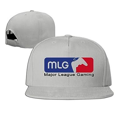 89452daabce Amazon.com  Man   Women Major League Gaming MLG ESports Logo Flat ...
