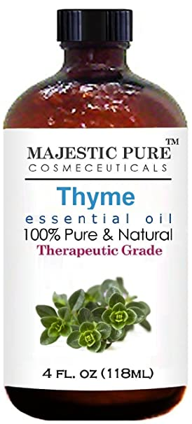 Majestic Pure Thyme Essential Oil