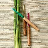 Susan Bates Bamboo & Aluminum Crochet Hooks-Set of 14 Crochet Hooks