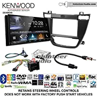 Volunteer Audio Kenwood DDX9904S Double Din Radio Install Kit with Apple CarPlay Android Auto Bluetooth Fits 2011-2013 Buick Regal (Black)