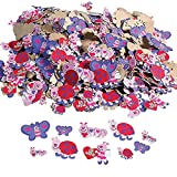 Fun Express - Love Bug Adhesive Foam Shapes for Valentine's Day - Craft Supplies - Foam Shapes - Regular - Valentine's Day - 500 Pieces