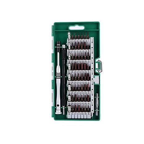ELECALL S2 Material 61 en 1 Destornillador de Punta magnética Kit de ...
