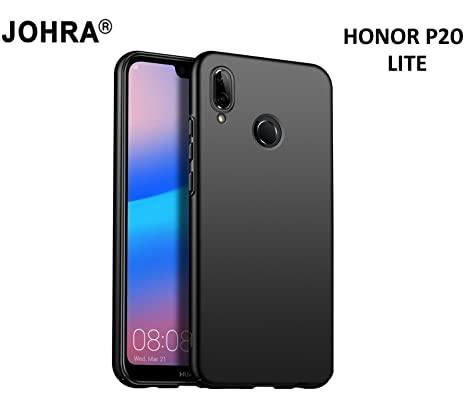 new product 61007 412cd Johra® 4 Cut All Sides Protection Sleek Ipaky Black Hard Case Back Cover  for Huawei Honor P20 Lite - Honor P20 Lite Back Cover