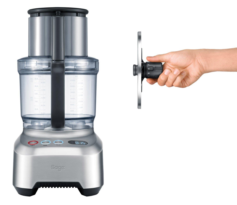 Sage BFP800UK the Kitchen Wizz Pro Food Processor - Silver: Amazon ...