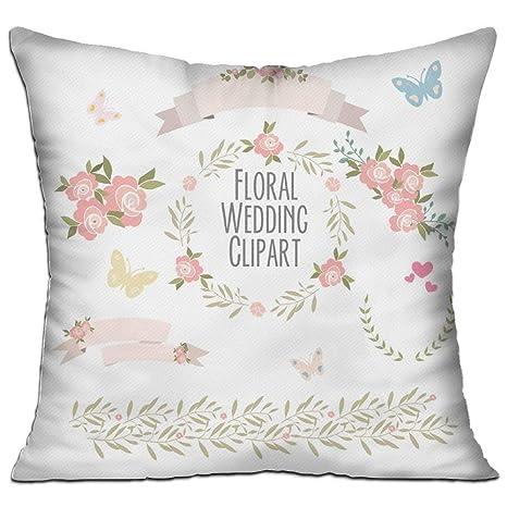 Xukmefat Rosas Florales Guirnalda de la Boda Flor Laurel ...