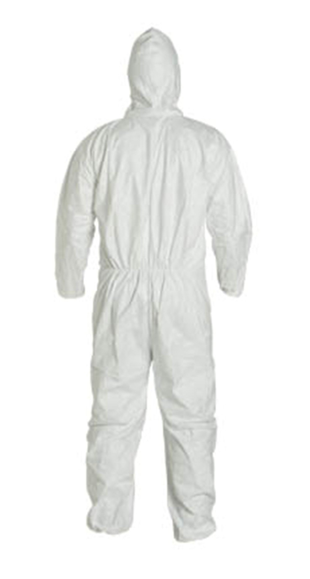 2XL Tyvek Coverall W/ Hood, Zipper, Elastic Wrist & Ankle (2XL-10 Suits) TY127S WH - 2XL - 10 by Tyvek (Image #4)
