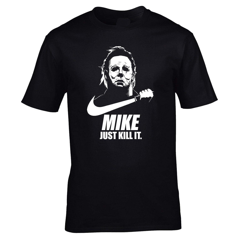 graceful shop Mike Just Kill it Funny Spoof Cotton T-Shirt NBKHICAZ