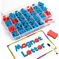 Coogam Spelling Letras magnéticas 208 Pcs Junta