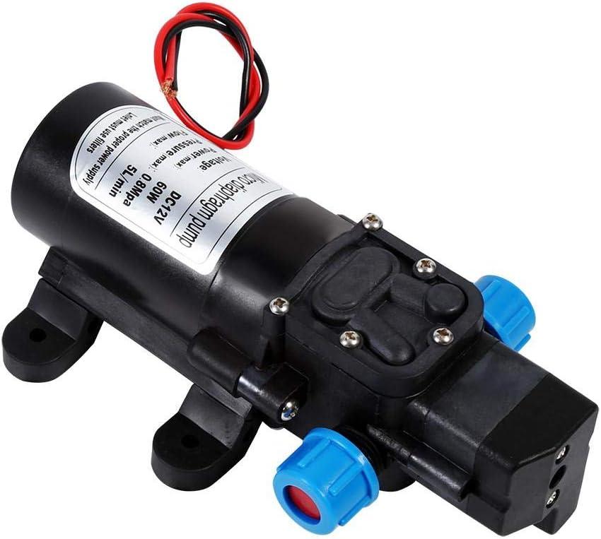 Auto-amor/çage pompe-DC 12V pompe /à eau haute pression 116Psi auto-amor/çage pompe pulv/érisateur pour bateau caravane camping bateau