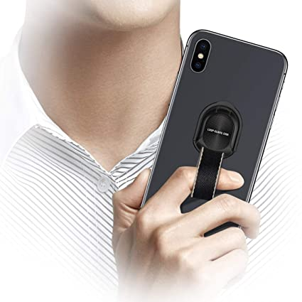 Amazon.com: Cell Phone Grip, Universal Finger Strap Loop with Stand