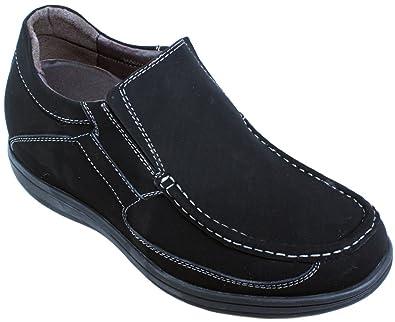 Freizeit Höhe Zunehmende Schuhe für Jungen Größer 2,35 Zoll