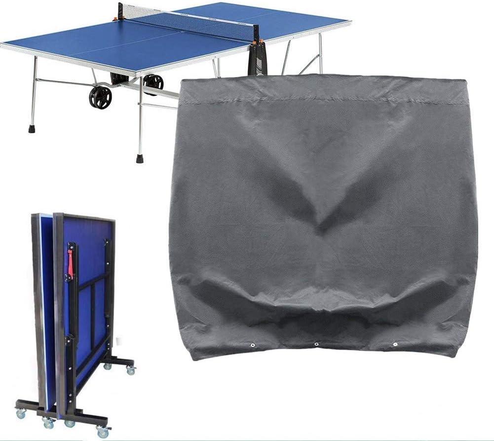 Milopon Carcasa Placa de tenis de mesa agua Densidad Tenis de Mesa Carcasa Ping Pong placa Muebles de Jardín Lona Funda Protectora Impermeable Proteger Contra la humedad y suciedad 165* 70* 185