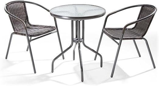 Tavoli E Sedie Da Giardino Economici.Set Da Giardino Con Tavolino E Sedie Ios Amazon It Giardino E