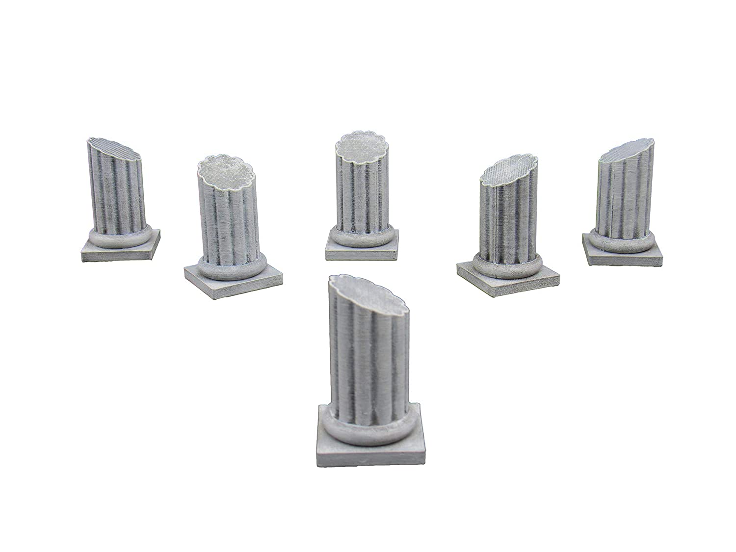 Pillars, Terrain Scenery for Tabletop 28mm Miniatures Wargame, 3D ...