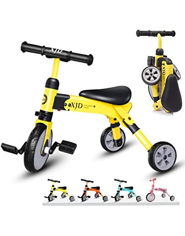 5e3cef6901a XJD 2 In 1 Kids Tricycle for 2 Years Old and Up Boys Girls Kids Trike