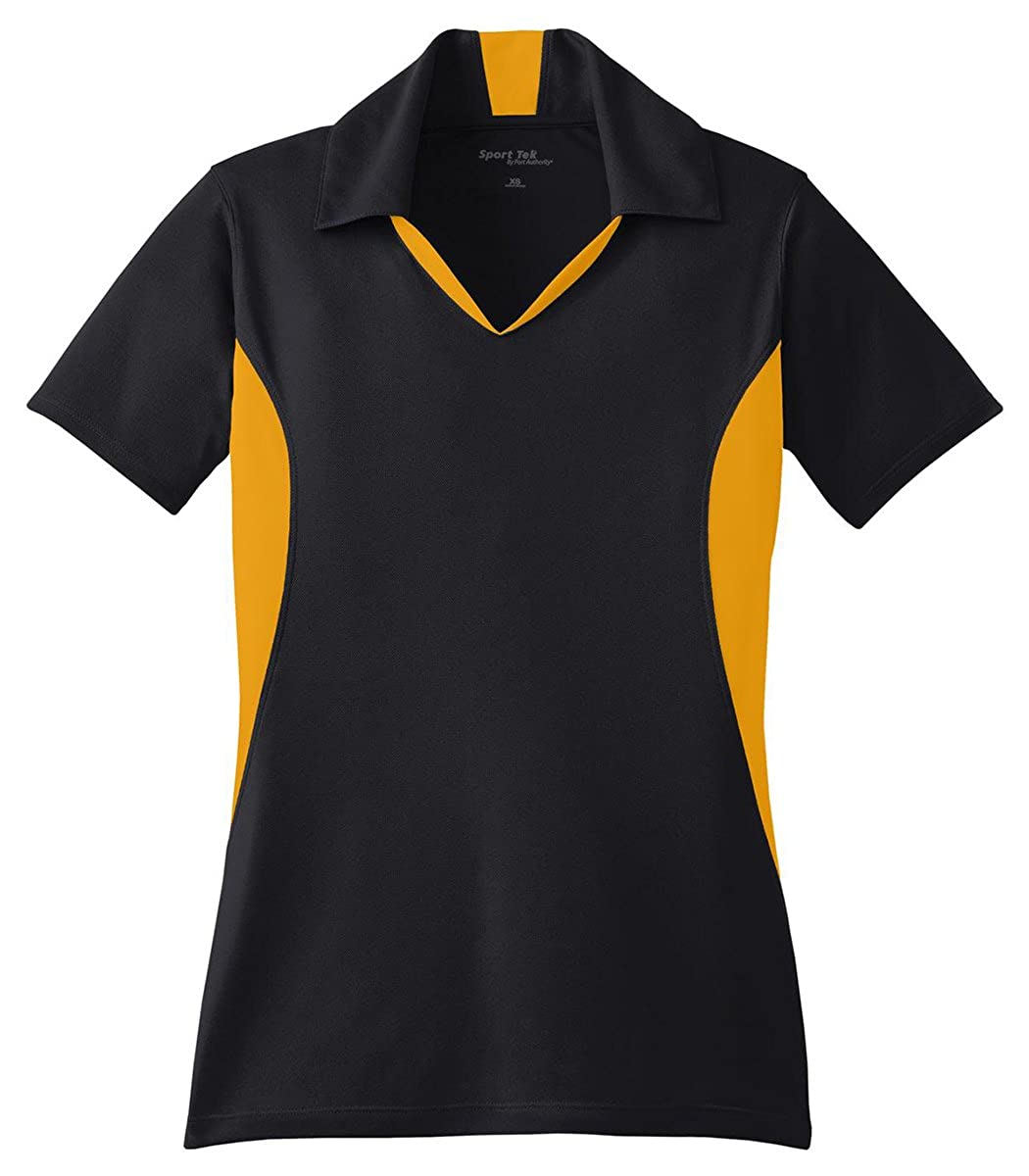 Sport-Tek Women's Side Blocked Micropique Sport Wick Polo LST655