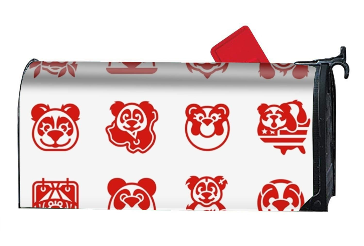 Rust-Proof Mail Box Covers National Panda Mailbox Makeover Cover