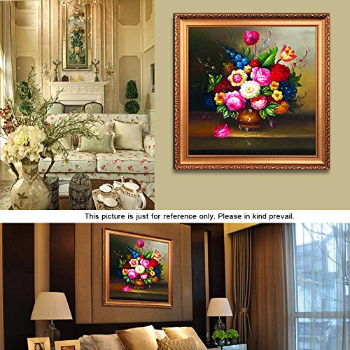Zytree(TM)DIY Handmade Precise Printed Oil Painting Vase Pattern Cross-Stitching Needlework Counted Cross Stitch Set Embroidery Kits