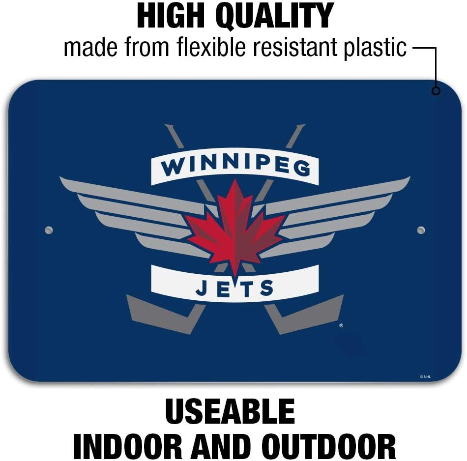 Amazon Com Graphics More Nhl Winnipeg Jets Logo Home Business Office Sign Home Kitchen