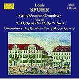 Sämtliche Streichquartette Vol.15