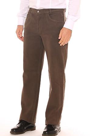 nuova collezione 55104 d2b1d SEA BARRIER Pantalone a Sigaretta Uomo in Velluto di Cotone ...