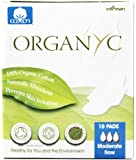 Organyc - Organic Cotton Menstrual Pads With Wings Moderate Flow 10 Pad(S)