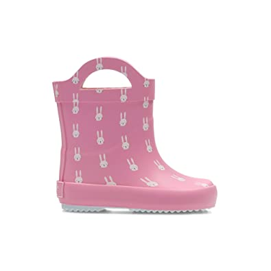 b357a2d7a84f Clarks Tarri Paws Infant Synthetic Wellies in Pink Standard Fit Size ...