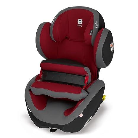 Kiddy Phoenixfix Pro 2 Asiento de coche infantil con sistema de pantalla anticolisión, Isofix, grupo 1 (9 – 18 kg, desde 9 meses a 4 años aprox.) rojo ...