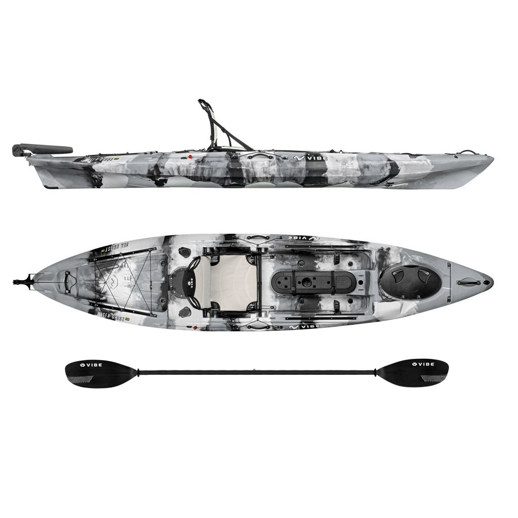 Vibe Kayaks Sea Ghost 130 Angler Kayak - fishing kayaks