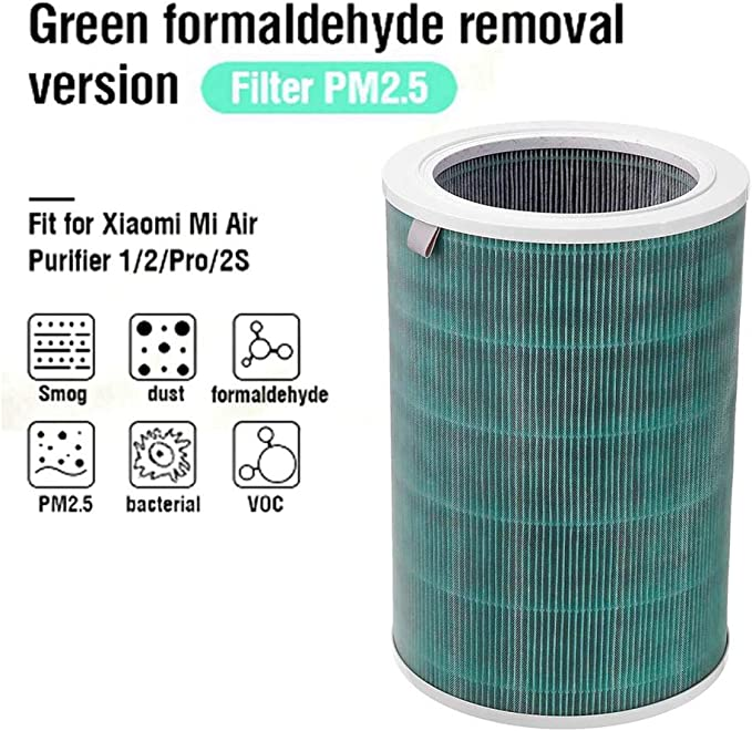 Xiaomi Mi Air Purifier Formaldehyde Filter Green: Amazon.es ...