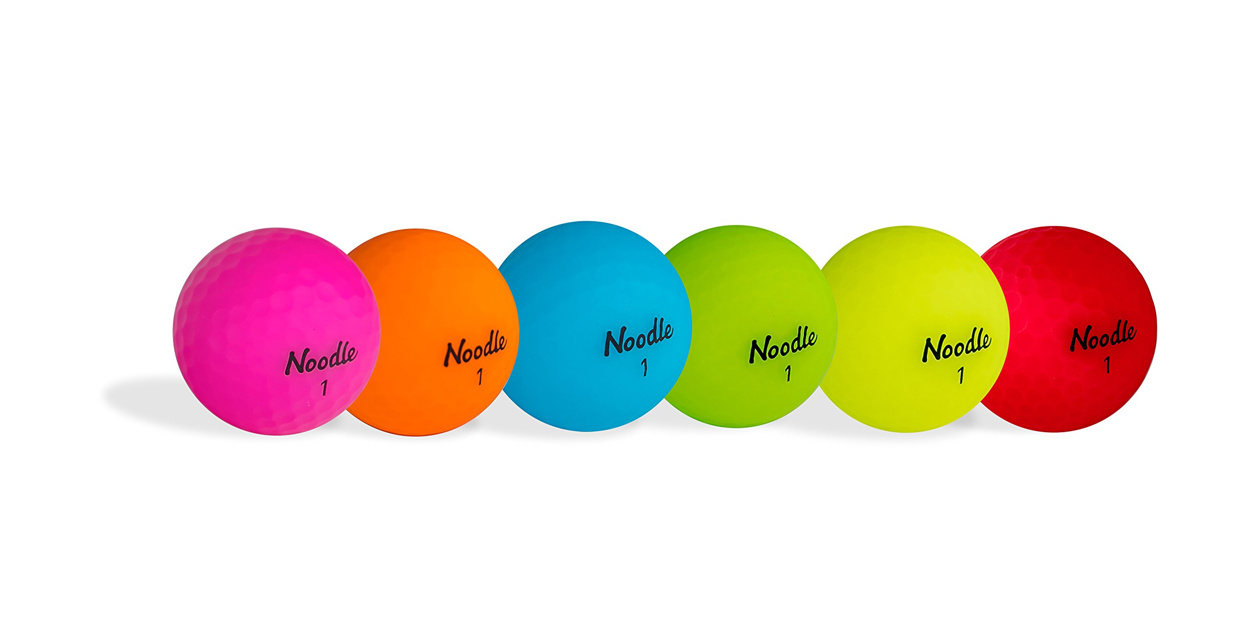 TaylorMade 2018 Noodle Neon Multi Pack Golf Ball (6 Dozen)
