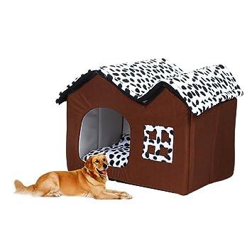 Caseta cueva Perros y Gatos Casa Perros y Gatos hogar mascotas Dormir Espacio: Amazon.es: Productos para mascotas