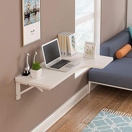 ZY Wall-Mounted Table Mesa Plegable de Esquina para computadora ...
